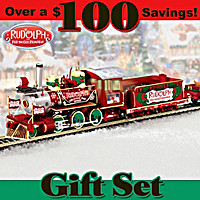Rudolph\'s Christmas Town Express Train Set