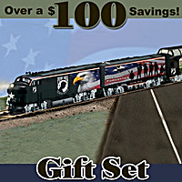 POW MIA Express Train Set
