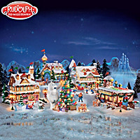 Rudolph The Red Nosed Reindeer® Village Set