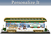 2020 Personalized Holiday Train Car