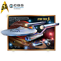 U.S.S. Enterprise NCC-1701 50th Anniversary Wall Decor