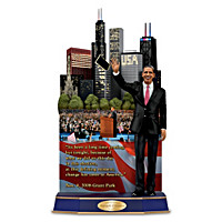 Barack Obama A Victory Of Hope Sculpture