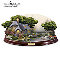 Thomas Kinkade Sounds Of Tranquility Sculpture