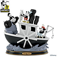 Disney Steamboat Willie Sculpture