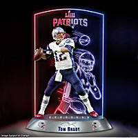 NFL Luminaries: Tom Brady Sculpture