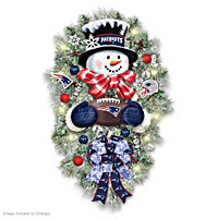 New England Patriots Wreath