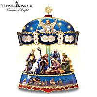 Thomas Kinkade Blessing Of Bethlehem Carousel