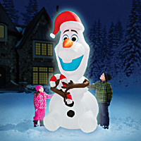 The 8\' Inflatable Olaf
