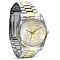 Official JFK Half Dollar Presidential Men\'s Watch