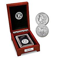 The First Carson City Morgan Silver Dollar Coin