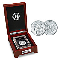 The First San Francisco Morgan Silver Dollar Coin