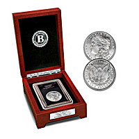 The Only Hot Lips Morgan Silver Dollar Coin