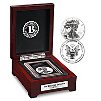 The Reverse Proof American Eagle Silver Dollar Coin