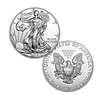 First Strike 2017 American Eagle Silver Dollar Coin
