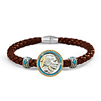 The Indian Head Nickel Men\'s Bracelet