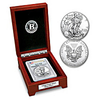 First Strike 2016 American Eagle Silver Dollar Coin