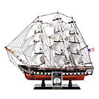 The USS Constitution Commemorative Coin And Sculpture Set