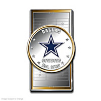 Official Dallas Cowboys Silver Dollar Money Clip