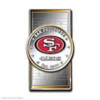 Official San Francisco 49ers Silver Dollar Money Clip