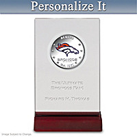 Broncos Dollar Coin With Personalized Display
