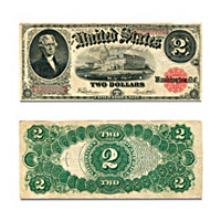1917 $2 United States Note