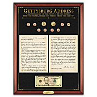 The Gettysburg Address: Voice Of Democracy Wall Decor