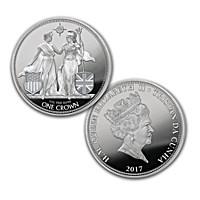 2017 Liberty & Britannia 1-Ounce Silver Coin