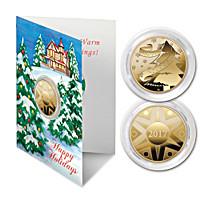 The 2017 Golden Keepsake Winter's Wonderland Coin Card Set