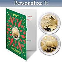 The 2017 Golden Keepsake Personalized Coin Card Set