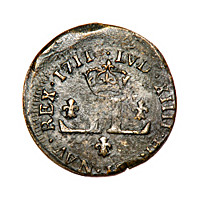 The New World Hoard French Colonial Mousquetaire Coin