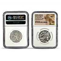 Treasures Of The Seleucid Empire Silver Coin