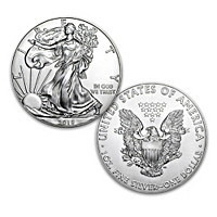 First Strike 2018 American Eagle Silver Dollar Coin