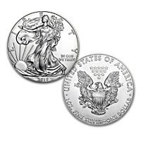 First Strike 2018 American Eagle Silver Dollar Coin