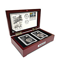 The 50th Anniversary Apollo Moon Landing Artifact & Coin Set