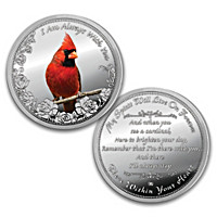 The Message From Heaven Proof Coin With Personalized Display