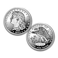 The Schoolgirl Morgan 1 Oz. 99.9% Silver Proof Coin