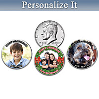The Personalized U.S. Half Dollar Coin