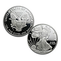 The First-Ever New Design Proof Silver Eagle Coin