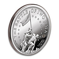 Iwo Jima 1 Oz. 99.9% Silver Proof Coin