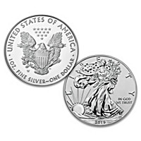 Early Release First-Ever Reverse Proof Silver Eagle Coin