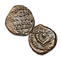 The Widow\'s Mite Ancient Coin