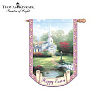 Thomas Kinkade Year of Glad Tidings Flag Collection