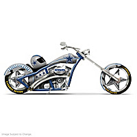 Dallas Cowboys Motorcycle Figurine Collection