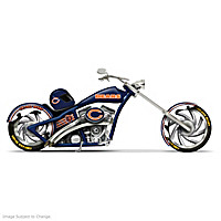 Chicago Bears Choppers With Team Logos And Graphics