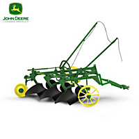 John Deere Plow Diecast Tractor Accessory Collection