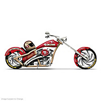 San Francisco 49ers Motorcycle Figurine Collection