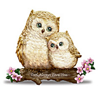 "Kayomi Harai ""You're Such A Hoot"" Owl Figurine Collection"