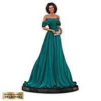 "Keith Mallett Michelle Obama ""Reflection Of Style"" Figurines"