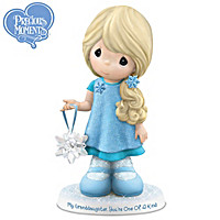 """Symbols Of Love For My Granddaughter"" Figurine Collection"