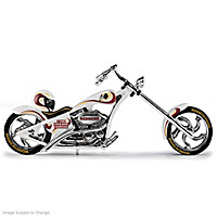 Washington Redskins Motorcycle Figurine Collection